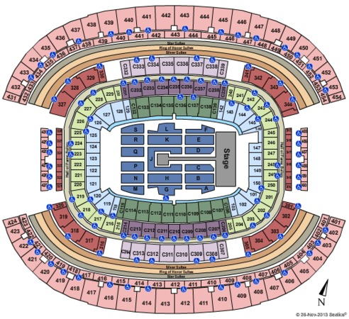 AT&T Stadium One Direction
