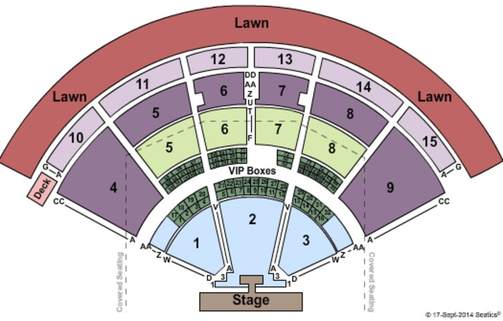 PNC Music Pavilion One Direction
