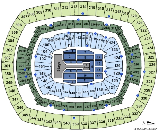 MetLife Stadium One Direction