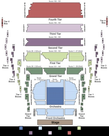 New Jersey Performing Arts Center Prudential Hall Tickets In
