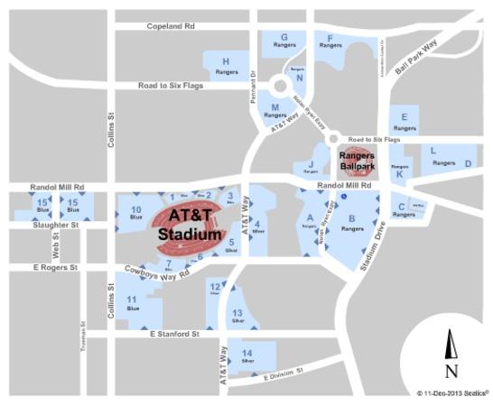 AT&T Stadium Parking