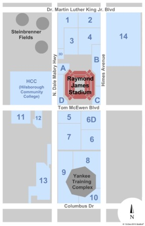 Raymond James Stadium Parking