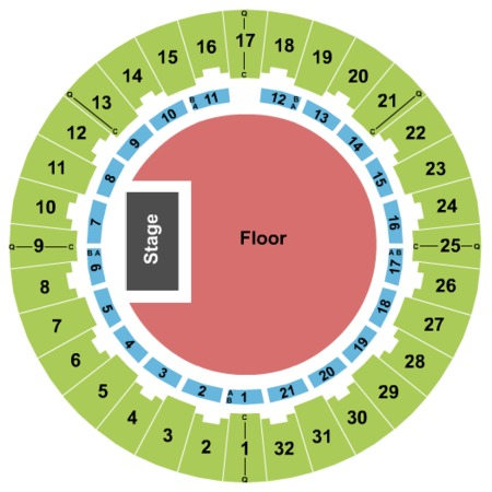 Neal S. Blaisdell Center - Arena General Admission
