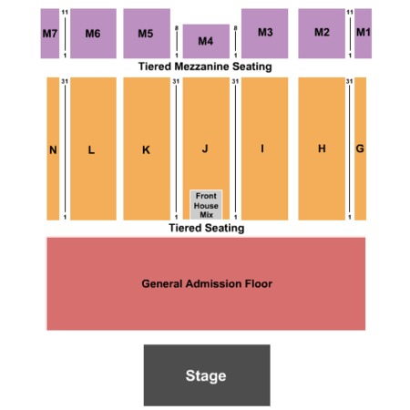 Caesars Colosseum Windsor Seating Chart