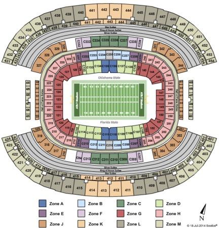 AT&T Stadium Cowboys Classic