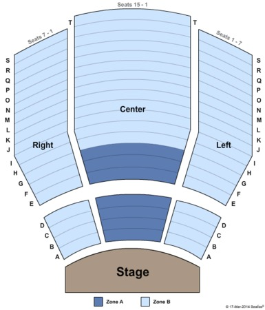 Performing Arts Center Tulsa Seating Chart Tulsa ok Performing Art Center