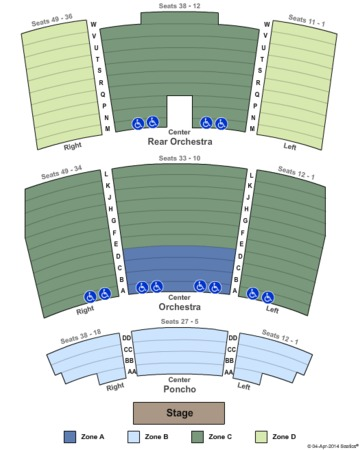 Blue man group orlando seating chart
