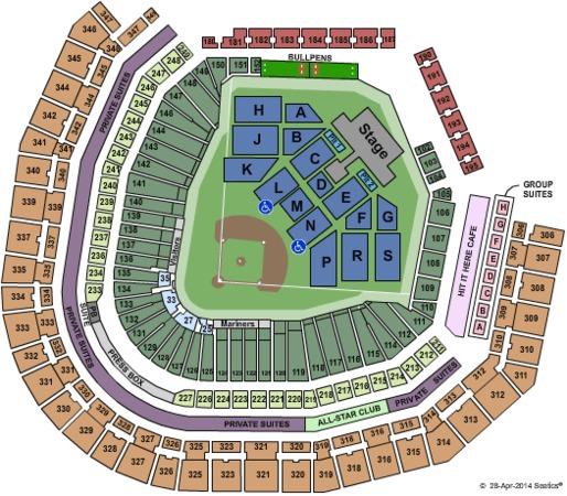 Safeco Field Tickets in Seattle Washington Safeco Field