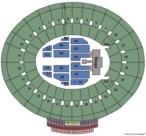 rose bowl tickets in pasadena california rose bowl seating charts events and schedule. Black Bedroom Furniture Sets. Home Design Ideas