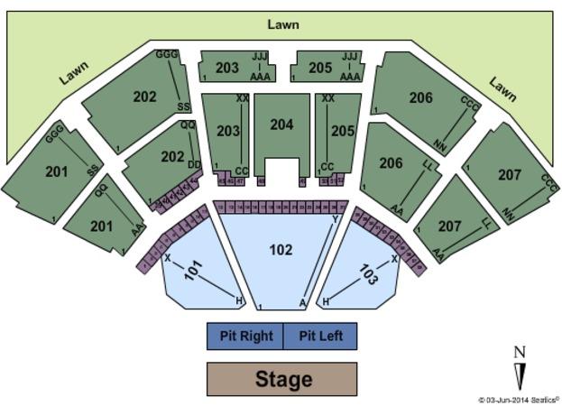 Cellairis Amphitheatre At Lakewood Tickets In Atlanta Georgia