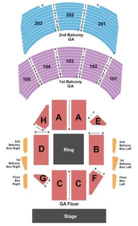 Hammerstein Ballroom Tickets in New York, Seating Charts ...