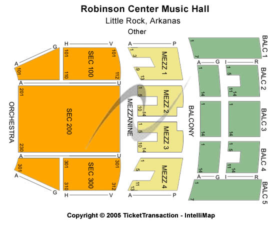 Robinson Center Performance Hall Other