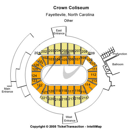 Crown Coliseum - The Crown Center Other
