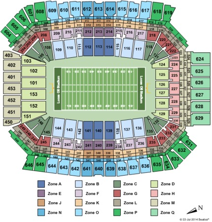 Lucas Oil Stadium Big Ten Int Zone