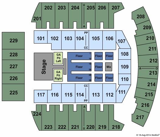 Bismarck Civic Center Tickets In Bismarck North Dakota Seating Charts Events And Schedule