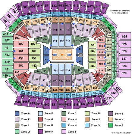Lucas Oil Stadium Final Four Zone