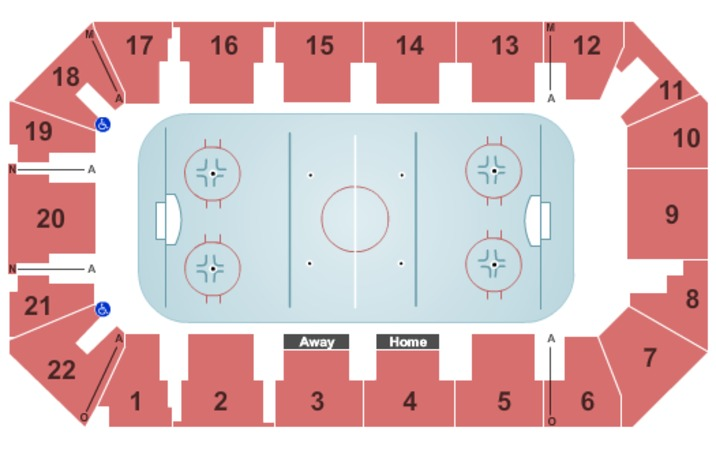 Cambria County War Memorial Arena Tickets In Johnstown Pennsylvania Seating Charts Events And