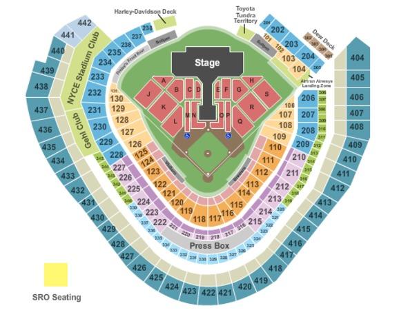 miller park seating diagram | Diarra