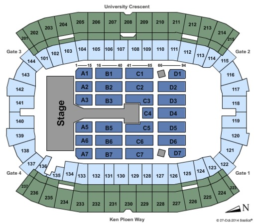 Investors Group Field One Direction