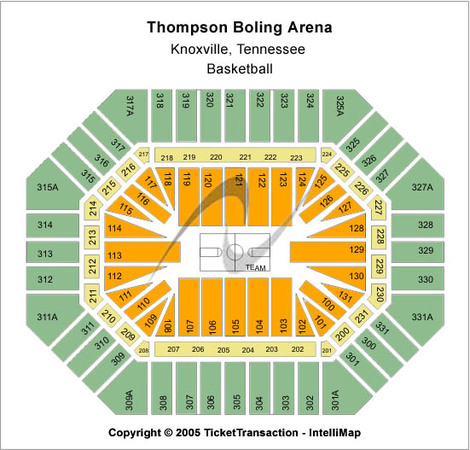 Thompson Boling Arena Basketball