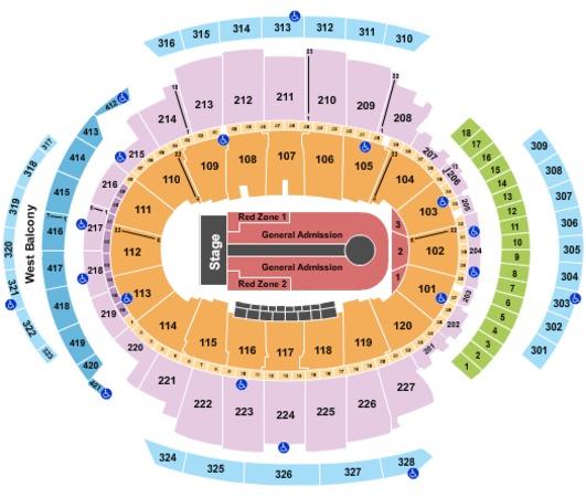 Madison Square Garden U2 Seating Chart Madison Square Garden