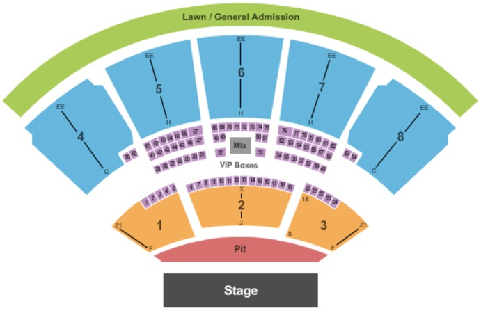 Coral Sky Amphitheatre Tickets In West Palm Beach Florida