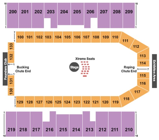 Luedecke Arena Tickets In Austin Texas Seating Charts