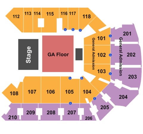 CFE Arena General Admission