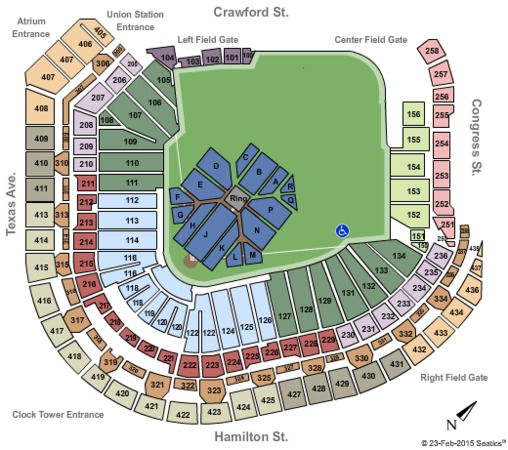 Minute Maid Park Tickets in Houston Texas, Minute Maid ...