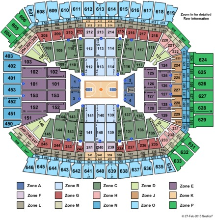 Lucas Oil Stadium Final Four Int Zone
