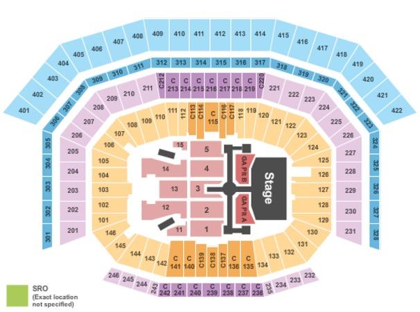 Levis Stadium Capacity >> Levi'stadium Tickets in Santa Clara California, Levi ...