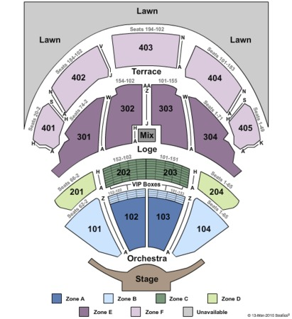 PNC Bank Arts Center End Stage No Pit - IntZone