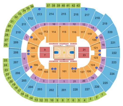 SAP Center Basketball