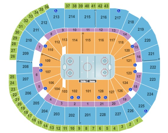 SAP Center Hockey