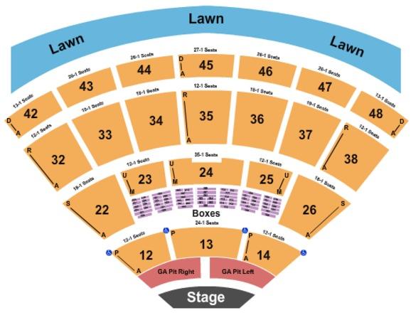Blossom Music Center Tickets In Cuyahoga Falls Ohio