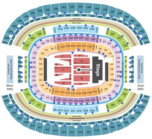 AT&T Stadium Rolling Stones