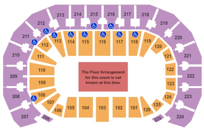 INTRUST Bank Arena Generic Floor