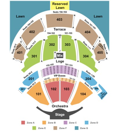 Pnc Bank Arts Center Tickets In Holmdel New Jersey