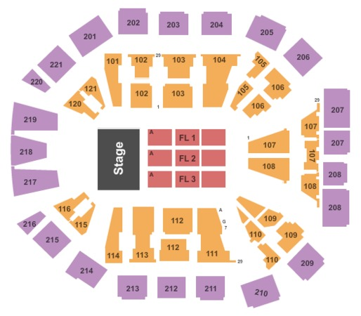 Matthew Knight Arena Tickets In Eugene Oregon Seating