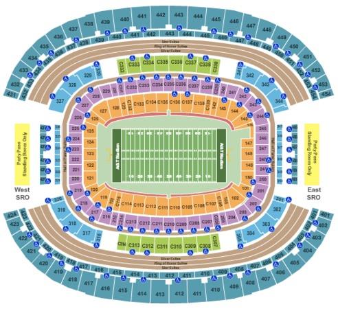 AT&T Stadium Football-SVG