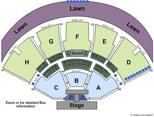Klipsch Music Center Tickets In Noblesville Indiana
