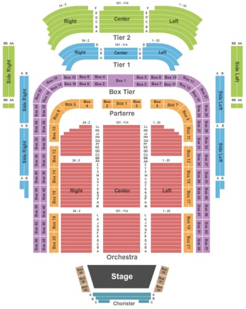 Kennedy center concert hall tickets in washington district of
