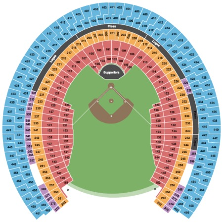 Olympic Stadium Tickets In Montreal Quebec Olympic