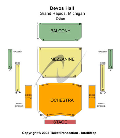 Devos hall tickets in grand rapids michigan devos hall seating