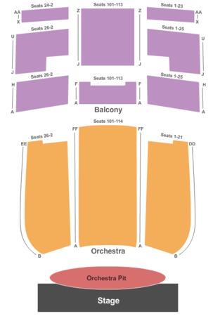 Idaho Falls Civic Auditorium End Stage