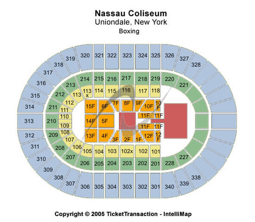 Nassau Veterans Memorial Coliseum Center Stage
