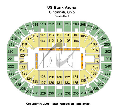 Us Bank Arena Basketball