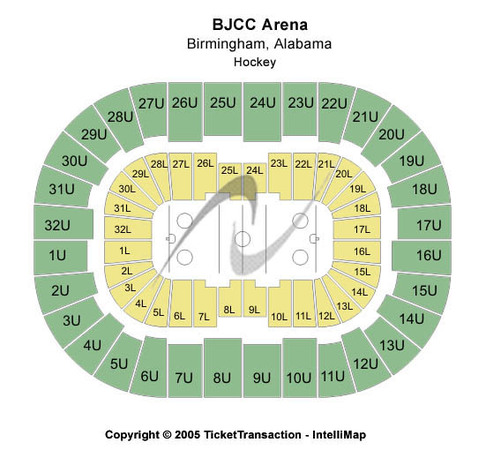 Legacy Arena at The BJCC Tickets in Birmingham Alabama ...