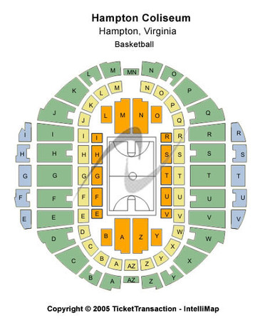 Hampton Coliseum Basketball