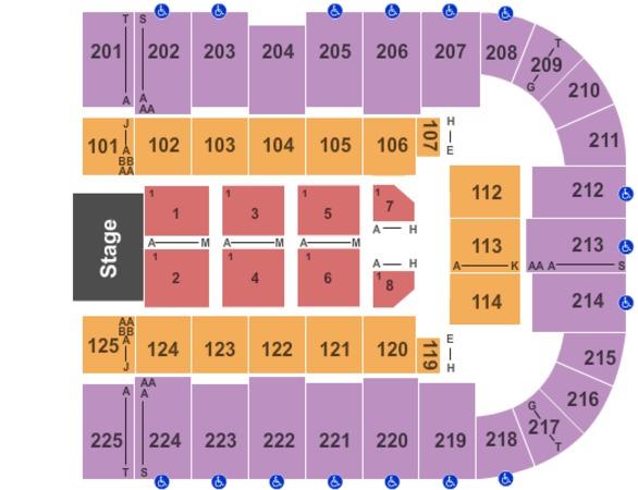 Tucson arena tickets in tucson arizona tucson arena seating charts